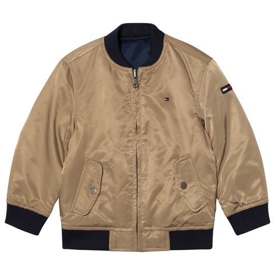 Tommy Hilfiger Navy Reversible into Tan Bomber Jacket 002