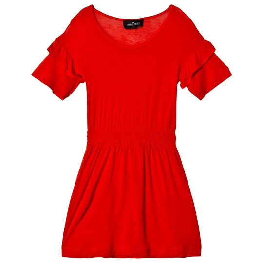 Little Remix New Blos Ruffle Dress Red Red