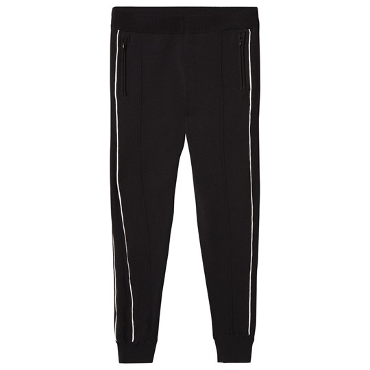 Little Remix Casey Pants Black/White Black/White Piping