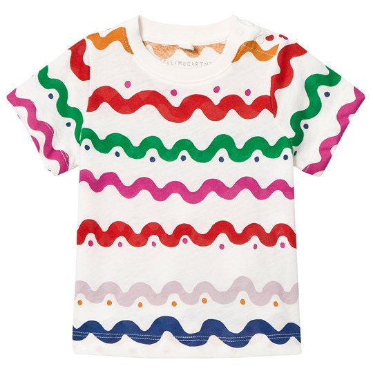Stella McCartney Kids Wiggle Print T-shirt Vit 9577