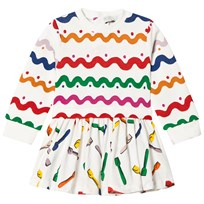Stella McCartney Kids Wiggle India Baby Klänning Multifärg 9577