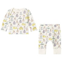 Stella McCartney Kids All Over Print Jersey Tröja och Byxor Set Vit 9579