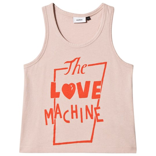 Wynken Pink Love Machine Tank Top Pink