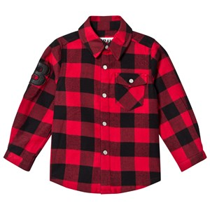 Image of The BRAND Flannel Shirt Red Check 104/110 cm (2756997733)