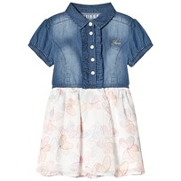 Guess Blue Denim and Butterfly Dress MEDW