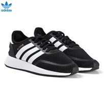 adidas Originals Black  Iniki Junior Trainers CORE BLACK/FTWR WHITE/FTWR WHITE