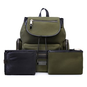 Image of Tiba + Marl Khaki Kaspar Neoprene Backpack Changing Bag (2936725701)