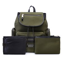 Tiba + Marl Khaki Kaspar Neoprene Backpack Changing Bag Khaki