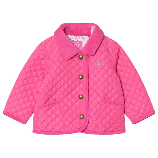 Tom Joule Pink Quilted Jacket UNIQUE PINK