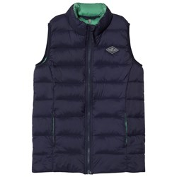 Joules Navy Pack Away Padded Gilet