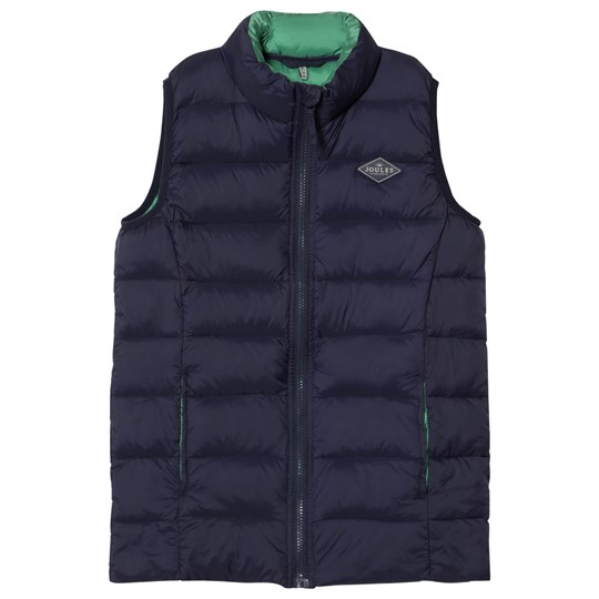 Tom Joule Navy Pack Away Padded Gilet French Navy