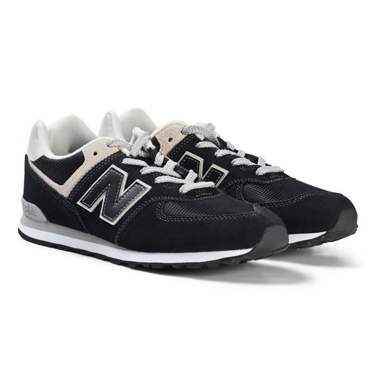 New Balance 574GK Skor Junior Svart Black