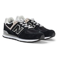 New Balance 574GK Black Trainers Junior Black