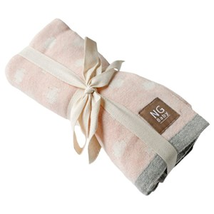 Image of NG Baby Cotton Blanket Rose Cross (3125275641)