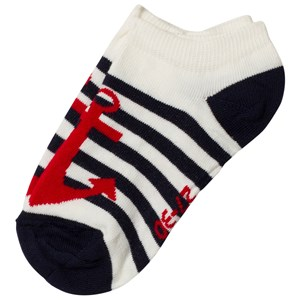 Image of Melton Anchor Laté Ankle Socks 31-34 (3140442503)