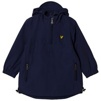Lyle & Scott Navy Pull Over Anorak Deep Indigo