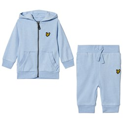 Lyle & Scott Blue Hoodie and Sweatpants Set