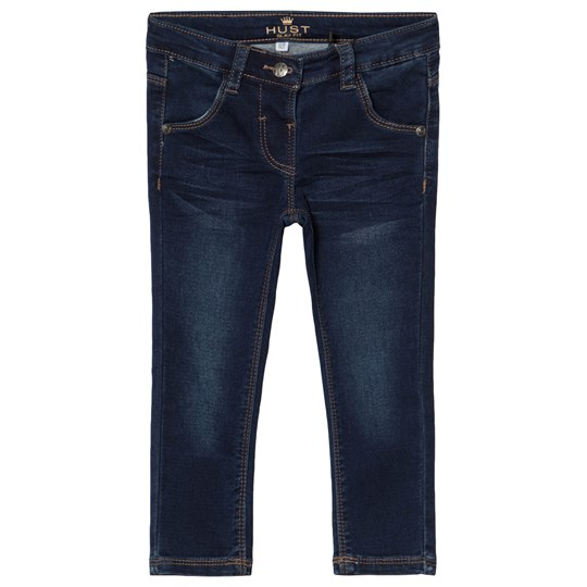 Hust&Claire Dark Washed Denim Jeans Denim