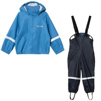 Kuling Rainman Rain Set Campanula/Navy Blue