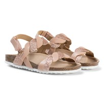 Mayoral Rose Gold Glitter Sandals 10