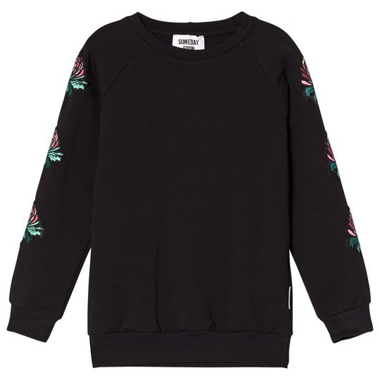 Someday Soon Morgan Crewneck Black Black