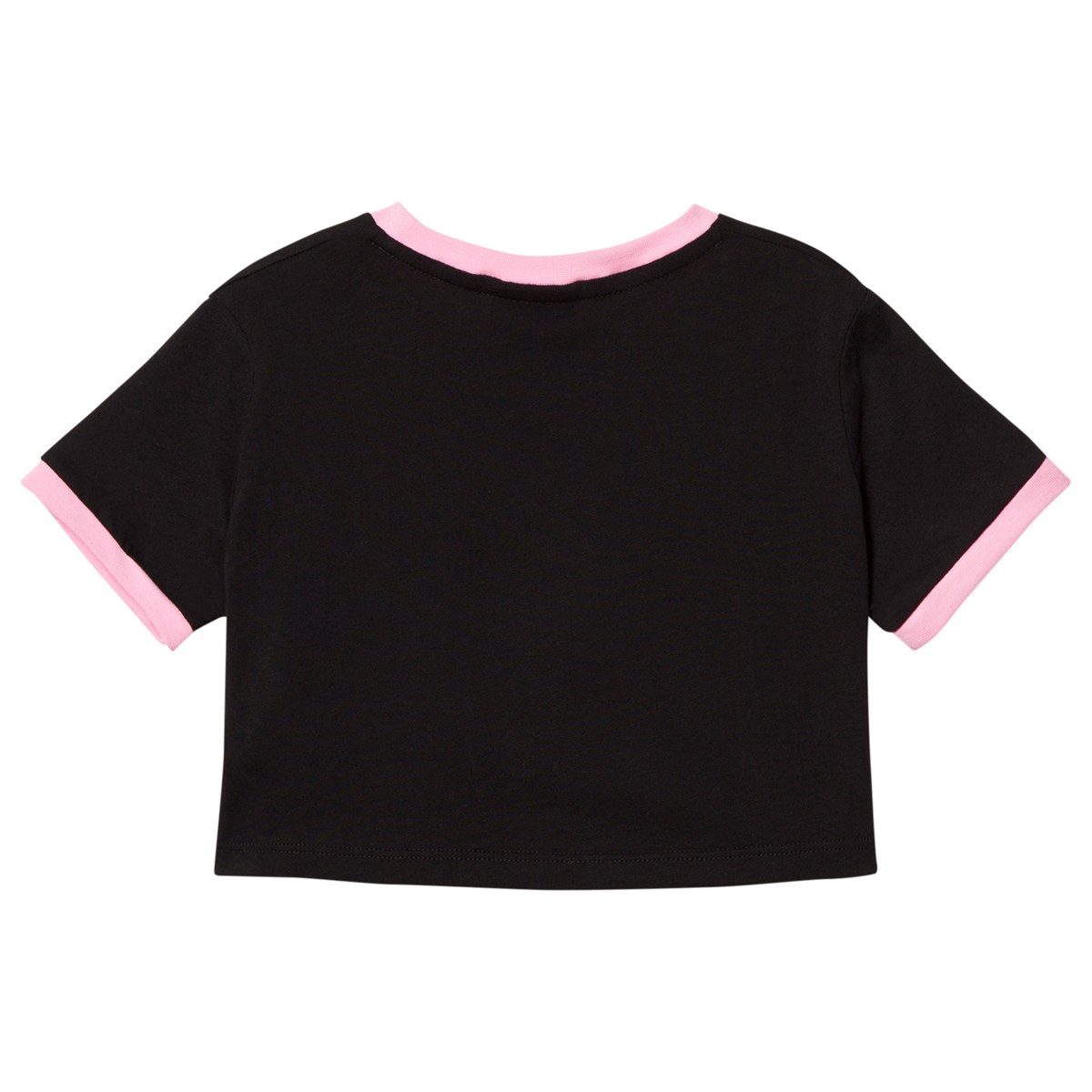 Branded Crop Top Tröja Svart Diadora Babyshop