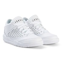Air Jordan White and Black Boys´ Jordan Flight Origin Pre-School Shoe 100