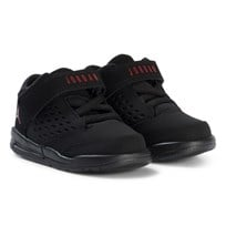 Air Jordan Black and Red Boys´ Jordan Flight Origin Toddler Shoes 002