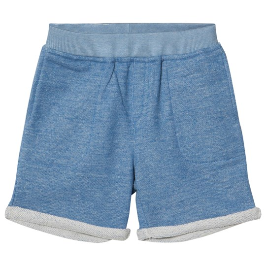 Billybandit Blue Pocket Fleece Shorts N58-ECRU BLUE