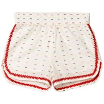 Stella McCartney Kids White Nathalie Shorts 9232