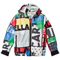 Stella McCartney Kids Black Cycle Print Scout Jacket 1075