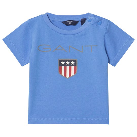 GANT Blue Shield Logo Tee 445