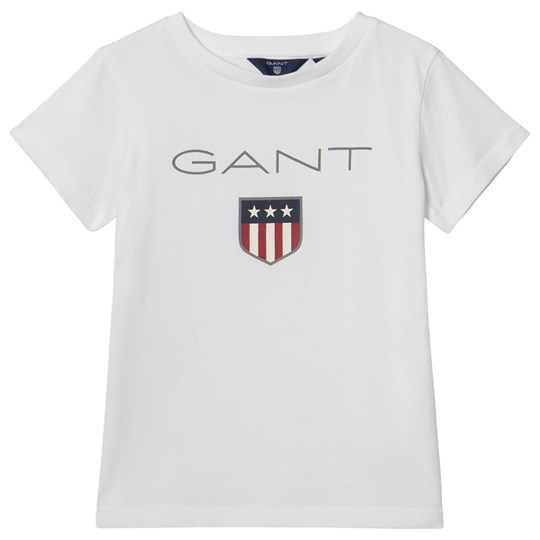 GANT White Shield Logo Tee 110