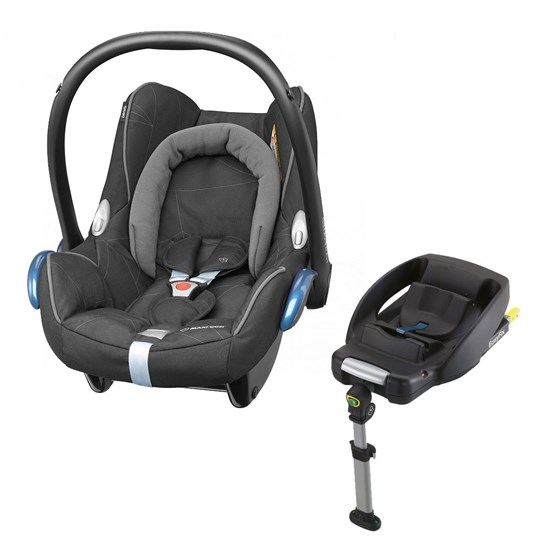 maxi cosi cabriofix car seat easyfix base black diamond. Black Bedroom Furniture Sets. Home Design Ideas
