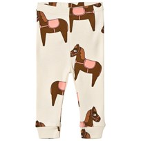 Mini Rodini Horse Leggings Pink Pink