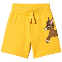 Mini Rodini Donkey Sweatshorts Yellow Yellow