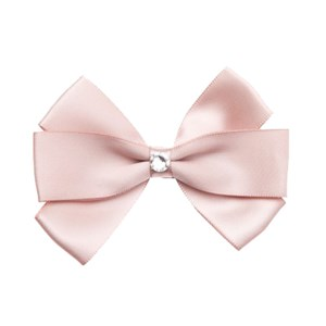 Image of Prinsessefin Marietta Baby Silk Bow Icy Pink (3034317443)
