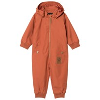 Mini Rodini Pico Coverall Orange Oransje