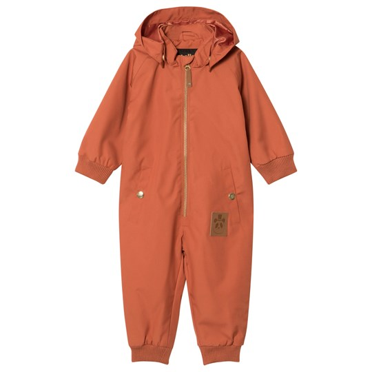 Mini Rodini Pico Coverall Orange оранжевый