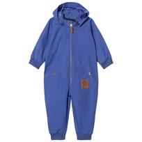 Mini Rodini Pico Coverall Blue Blue
