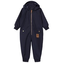 Mini Rodini Pico Coverall Navy Navy