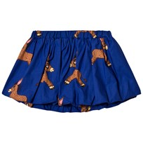 Mini Rodini Donkey Woven Skirt Blue Blue