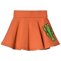 Mini Rodini Donkey Cactus Sweatskirt Orange оранжевый