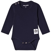 Mini Rodini Basic Baby Body Marinblå Navy