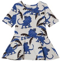 Mini Rodini Draco Dance Dress Blue Blue
