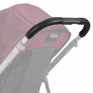 Image of UPPAbaby VISTA Leather Handlebar Covers Black (2939928231)
