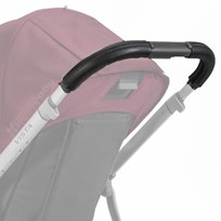 UPPAbaby VISTA Leather Handlebar Covers Black Black