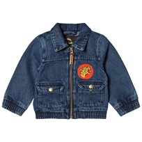 Mini Rodini Denim Tiger Jacka Vintage Wash VINTAGE WASH