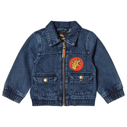 Mini Rodini Denim Tiger Jacket Vintage Wash VINTAGE WASH