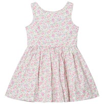 Ralph Lauren Pink Multi Floral Fit and Flare Dress 001
